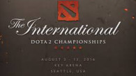 Стартует The International 2016